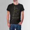 Cubs Refrain T-Shirt - Black | GILDAN